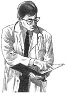 Doctor wearing tie