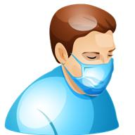 Masks can help prevent flu spread